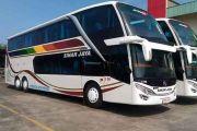 Bus Sinar Jaya Doubledeck