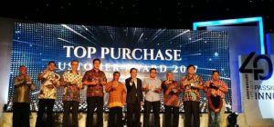 Penghargaan Customer Award dari Karoseri Laksana
