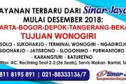 SOFT LAUNCHING RUTE PELAYANAN BARU PO. SINAR JAYA GROUP